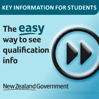 button to access a tool to search for information about tertiary qualifications.