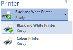 Print options for Student Desktop in Dunedin, Invercargill, Auckland