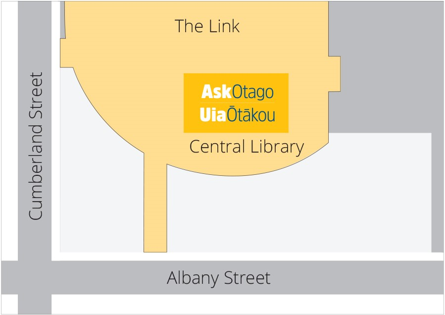 AskOtago central library hub