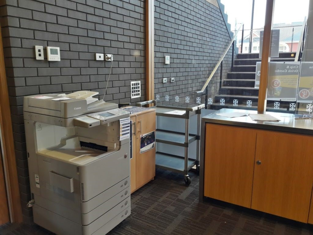 Marsh Study Centre printer