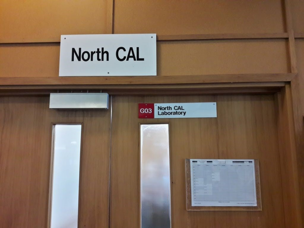 Entrance to North CAL, Science 3 Building