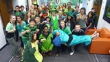 One of our floor photos from St Paddy's Day, always a great event at Aquinas