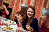 Our termly Formal Dinners are a great chance to dress up and enjoy some great entertainment and gourmet dining