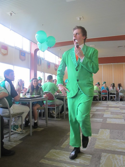 Its all about style for St Patricks day