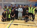 2014 residents dress up as staff for themed Tuesday night sports