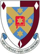 Carrington College crest.