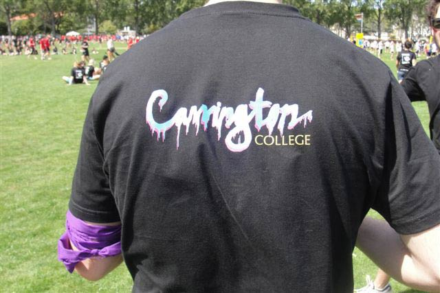 Carrington students at the Residential Colleges' Sports Day