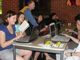 Carrington student's getting assistance with enrolment