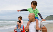 Family on a beach thumbnail