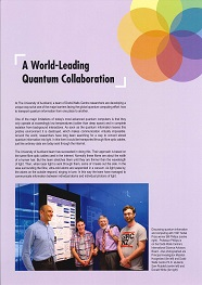 A World Leading Quantum Collaboration resized