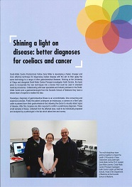 Shining a light on disease _ better diagnoses for coeliacs and cancer resized