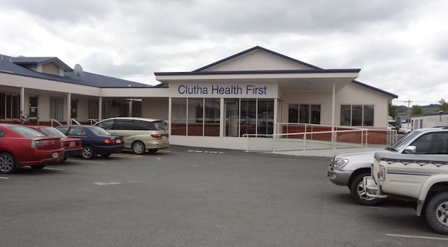 Clutha Health First Entrance