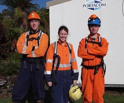 RMIP students at Mines rescue