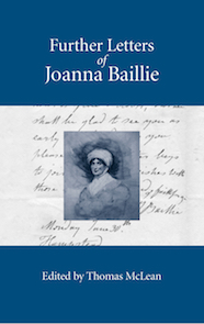 Further Letters of Joanna Baillie bookcover image