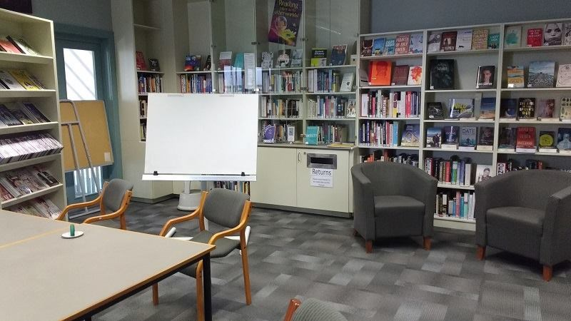 The Library at Caroline Freeman College 2