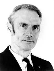 Picture of Professor Ron Lister first Professor of Geography