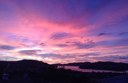 Dunedin at dawn – a spectacular example of scattering of incoming solar radiation
