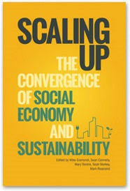 Book Cover of Scaling up the Convergence of Social Economy and Sustainability