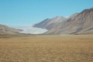 Unnamed glacier in Axel Heiberg Island Canadian Arctic