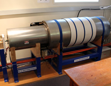 Cryogenic magnetometer in the Department of Geology