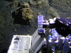 Submersible sampling of volcaniclastic deposits on Loihi Seamount using Hawaii's Pisces IV submersible