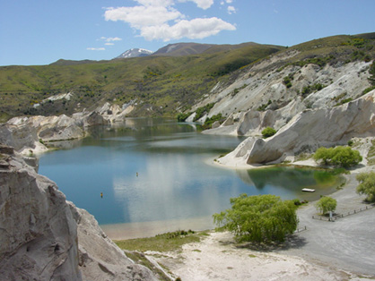 St-Bathans - Blue Lake