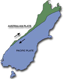 NZ tectonic setting