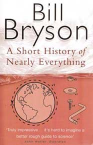 A short history of nearly everything bookcover