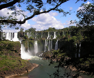 The waterfalls of Iguazú, Argentina