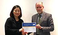 Joanne Choi receiving her award from Richard Cannon thumb