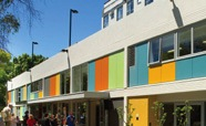 Building with colourful facade thumbnail