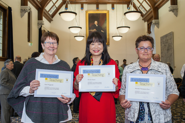 Photo of Humanities teaching excellence awards