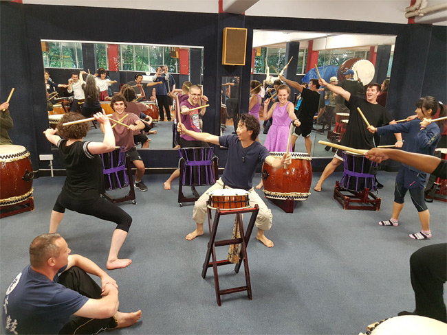 Otaiko performance and workshop-1