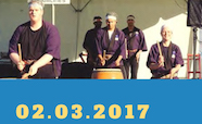Japanese drumming workshop and performance - poster