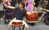Japanese drumming workshop and performance - 1