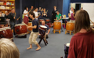 Japanese drumming workshop and performance - 2