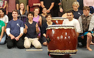 Japanese drumming workshop and performance - 3