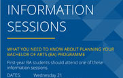 Info sessions thumbnail