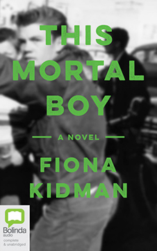Cover of the novel 'This Mortal Boy', by Fiona Kidman.