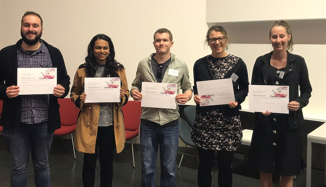 The five poster competition prizewinners image