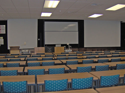 Hercus D'Ath Lecture Theatre inside