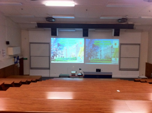 Med Red Lecture Theatre inside