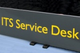 ITS Service Desk sign
