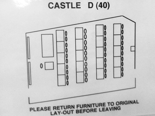 Castle D layout