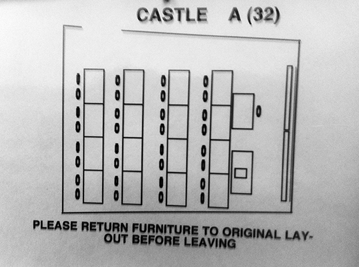 Castle A layout