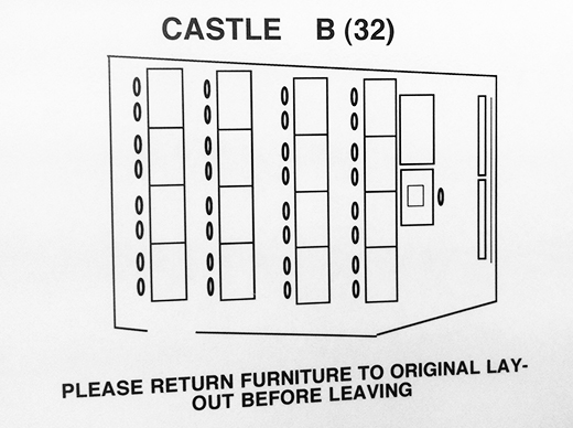 Castle B layout