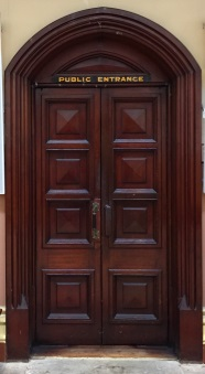 Future Courts image - Courthouse Door