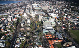 All Campus Dunedin City aerial
