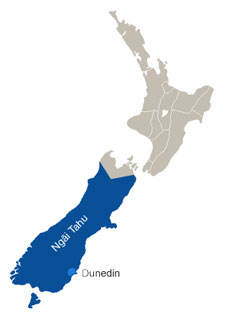 Map of Aotearoa New Zealand
