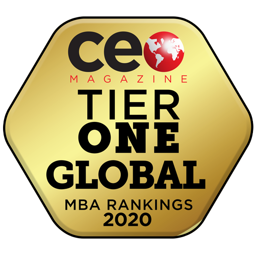 CEO Magazine Tier One in the Global Online MBA Rankings 2020